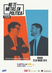 No te metas en política – Facu Díaz y Miguel Maldonado