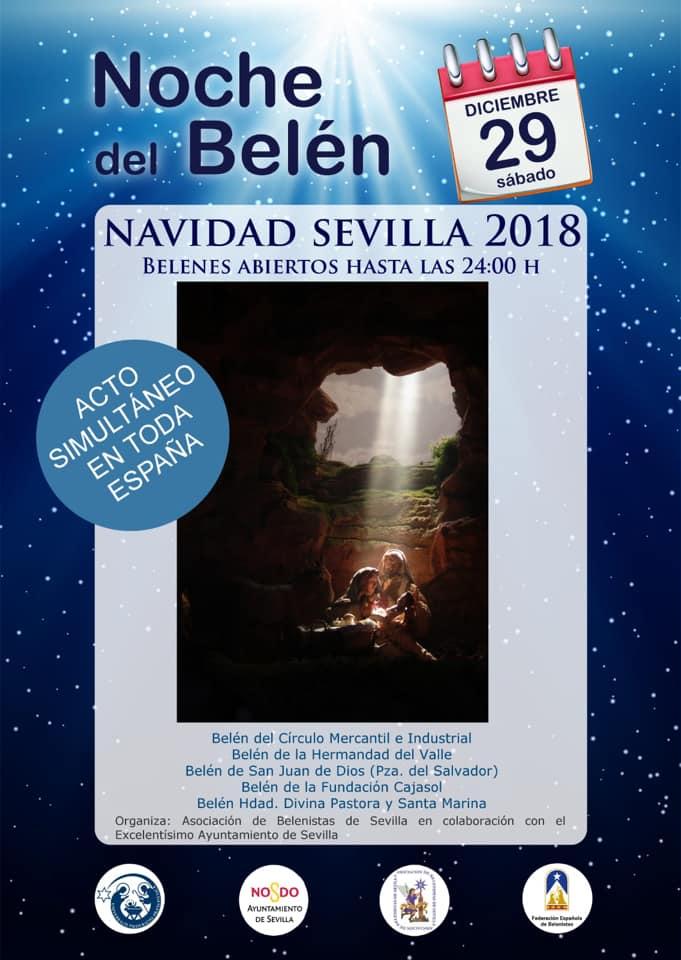 Noche del Belén en Sevilla