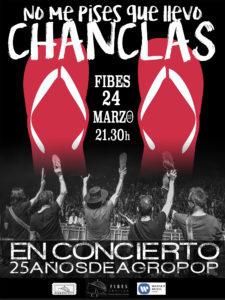 No me pises que llevo chanclas Fibes Sevilla 2017
