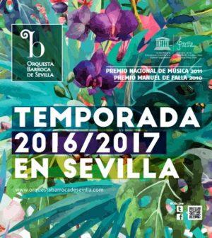 Orquesta Barroca de Sevilla - Programación 2016-2017