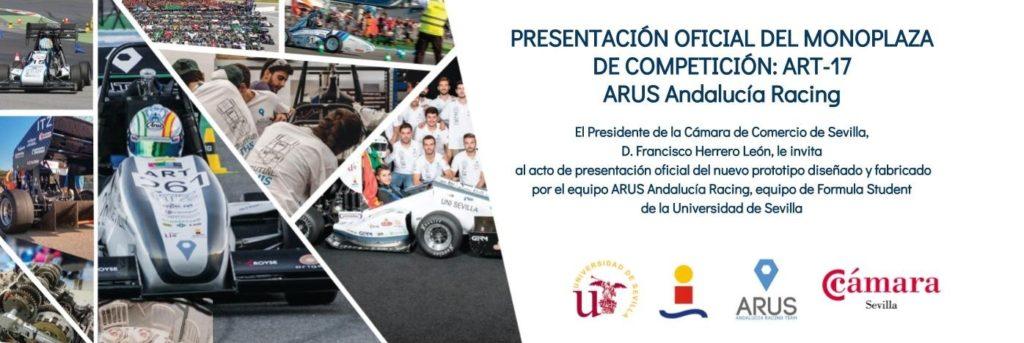 Presentación Oficial del monoplaza de competición ART-17 ARUS Andalucía Racing