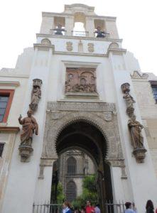 Puerta del Perdón. Catedral de Sevilla.