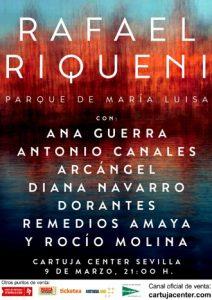"""Rafael Riqueni """"Parque de María Luisa"""" con invitados especiales – Cartuja Center"""