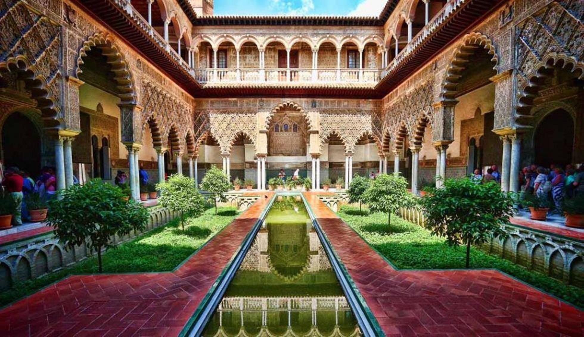 Real alcazar de sevilla andalunet portail sevilla for Cuarto real alcazar sevilla