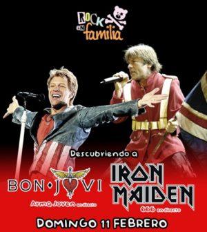 Rock en familia.Descubriendo a Iron Maiden y Bon Jovi en El Teatro de Triana. Sevilla