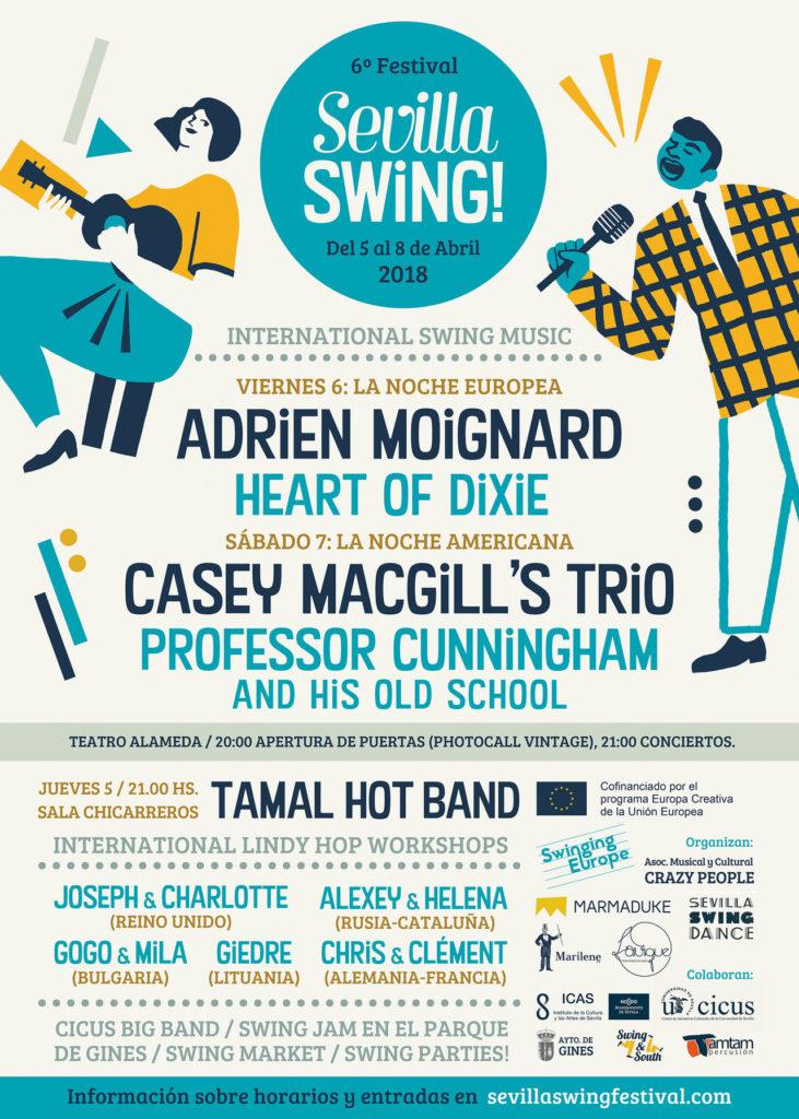 VI edición del festival Sevilla Swing