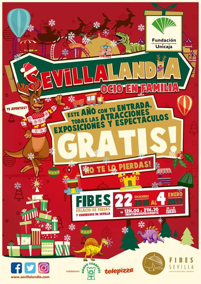 Sevillalandia 2018 Fibes Sevilla - Ocio en Familia