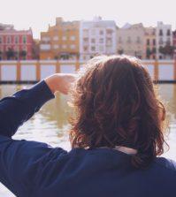 Vistas a Triana desde el paseo fluvial de Sevilla