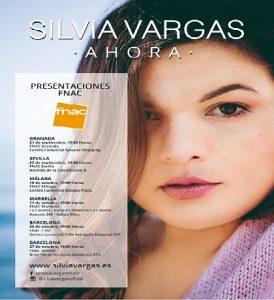 """Silvia Vargas presenta """"Ahora"""" en Fnac Sevilla"""