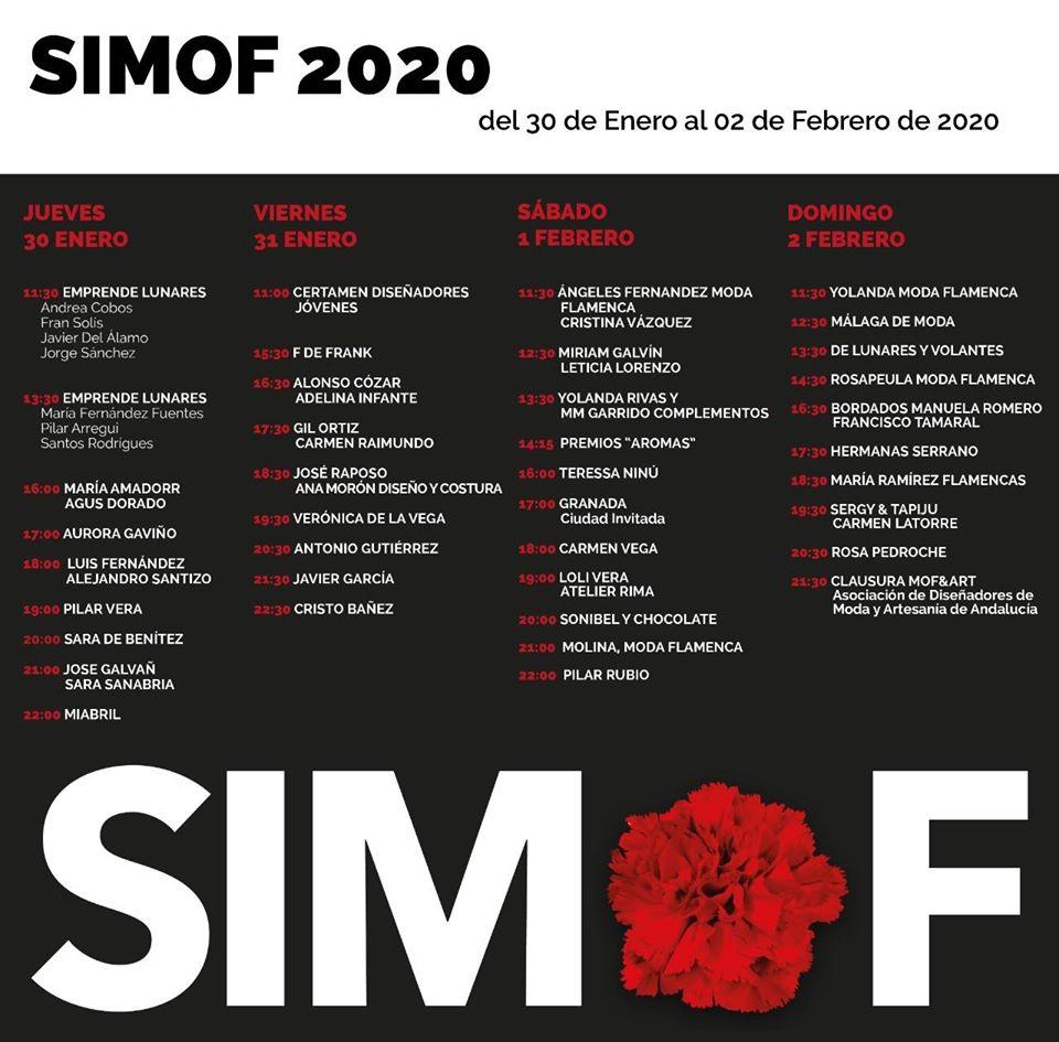SIMOF 2020. XXVI Salón Internacional de la Moda Flamenca. FIBES Sevilla