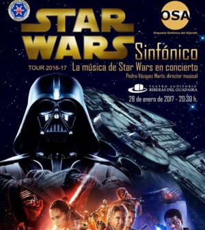 Concierto Star Wars Sinfónico en Teatro Auditorio Riberas del Guadaira