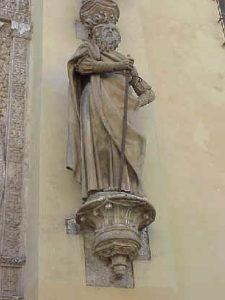 San Pablo en la Puerta del Perdón de Sevilla. Fuente: El Galeón