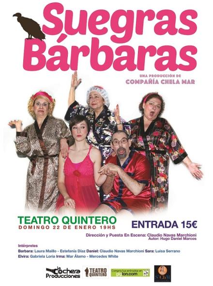 Suegras Bárbaras Teatro Quintero Sevilla