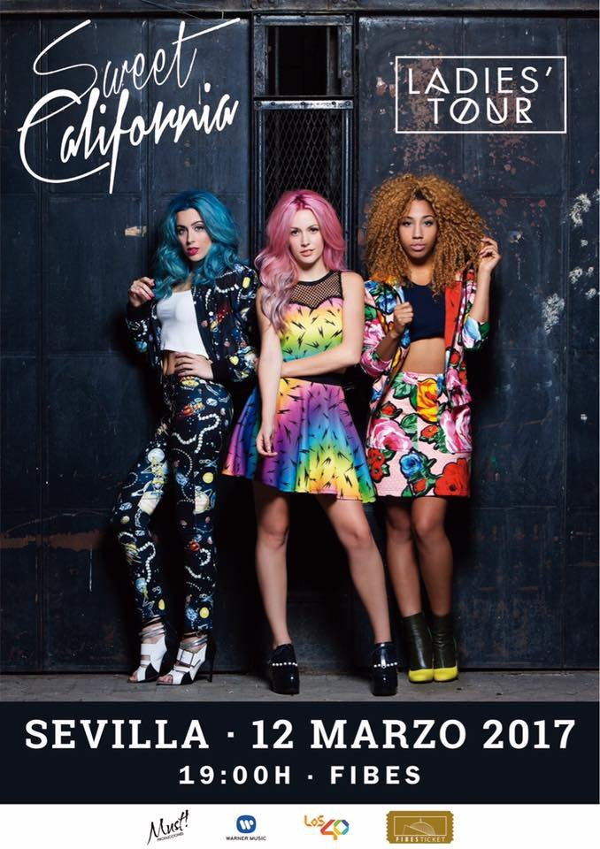 "Sweet California en Sevilla: Concierto ""Ladies' Tour"" en FIBES"