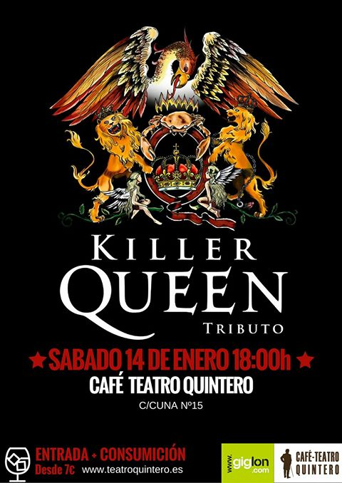 TRIBUTO KILLER QUEEN – Quintero