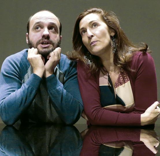 Um espectáculo [Abel e Bela]. III Ciclo de Teatro Portugués. La Fundición, Sevilla