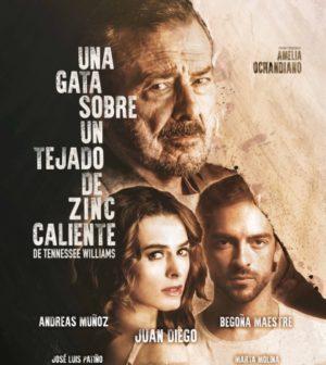 UNA GATA SOBRE UN TEJADO DE ZINC CALIENTE de Tenesse Williams. Teatro Lope de Vega, Sevilla