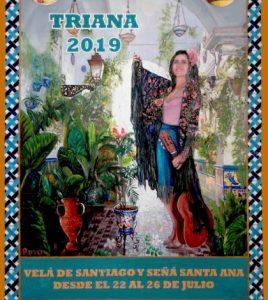 Velá de Santiago y Santa Ana. Triana 2019.