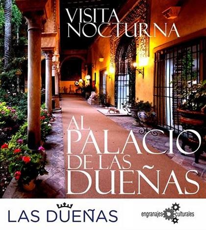 visita-nocturna-palacio-dueñas-sevilla-cartel