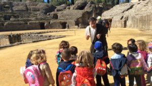 Visita teatralizada a Itálica