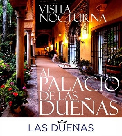 Visitas nocturnas al palacio de las Dueñas, Sevilla
