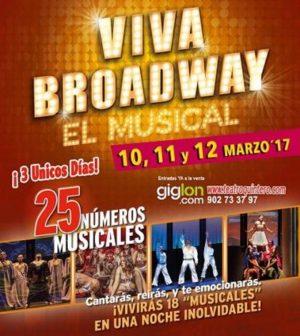 Viva Brodway. El Musical. En Teatro Quintero de Sevilla